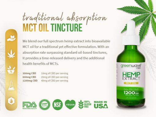 Hemp CBD Extract – Brochure