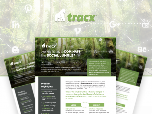 Tracx – One Sheeter