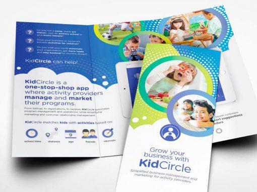 KidsCircle – Brochure Design