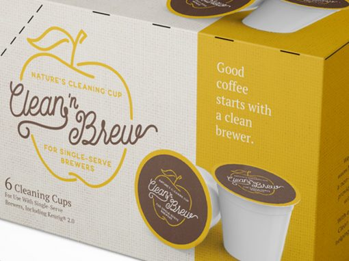 Clean 'N Brew – Branding & Package Design