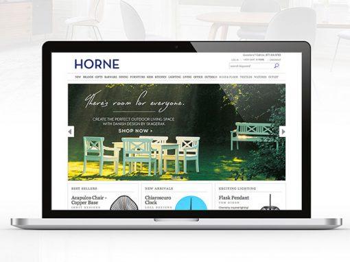 Horne Web Banner Design