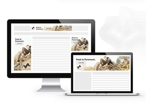 Foresake – Web Banner Design